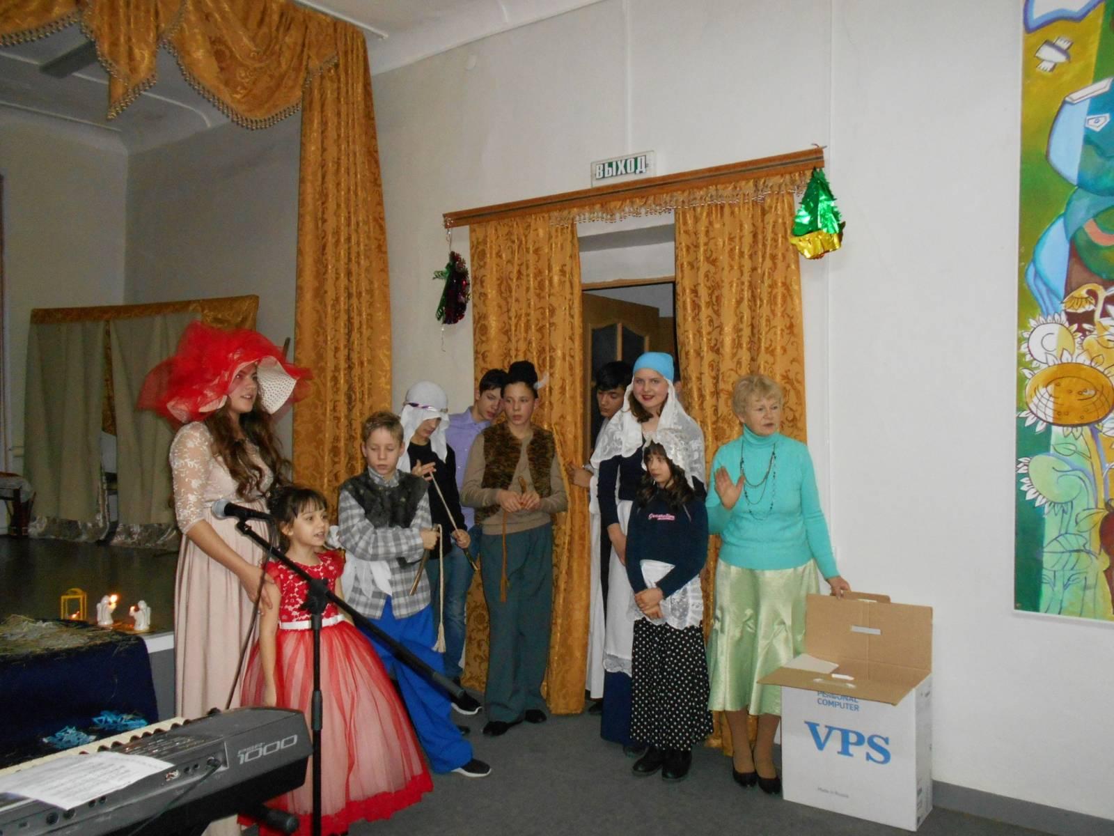 Музыкально-театрализованное мероприятие «Вифлиемская гостиница».