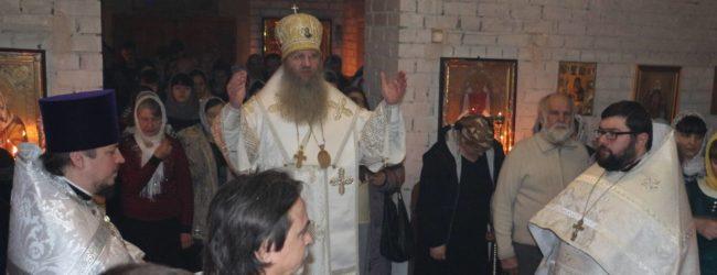 Ночная Рождественская Божественная литургия.