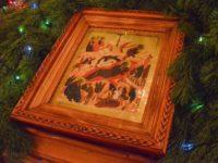 Праздничное богослужение в честь Рождества Господа нашего Иисуса Христа.