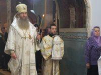 Праздничное всенощное бдение в соборе Покрова Пресвятой Богородицы г.Урюпинска.