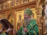 Служение епископа Елисея в день памяти прп. Серафима Саровского и всея России чудотворца.