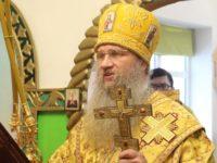 Служение епископа Елисея в неделю «О Мытаре и Фарисее».