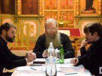 Собрание сотрудников миссионерского отдела Урюпинской епархии.