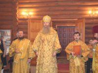 Божественная литургия в храме Успения Пресвятой Богородицы ст. Арчединской.
