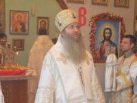 Служение епископа Елисея в день памяти Сщмч. Зотика пресвитера, Сиропитателя.