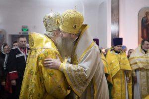 Божественная литургия в Иоанно-Кронштадтском храме