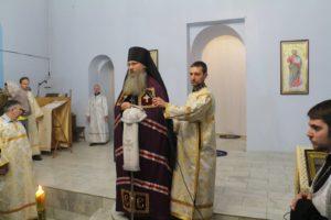 Праздничное всенощное бдение в Покровском кафедральном соборе