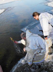 Чин Великого освящения воды в реке Хопёр в г. Урюпинске