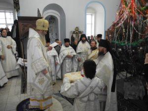 В Попразднство Рождества Христова. Ап. первмч. и архид. Стефана