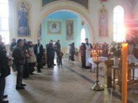 Панихида по невинно убиенным казакам и их семьям в годы геноцида казачьего народа.
