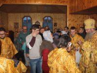 Всенощное бдение в храме Покрова Пресвятой Богородицы хутора Ветютнев.