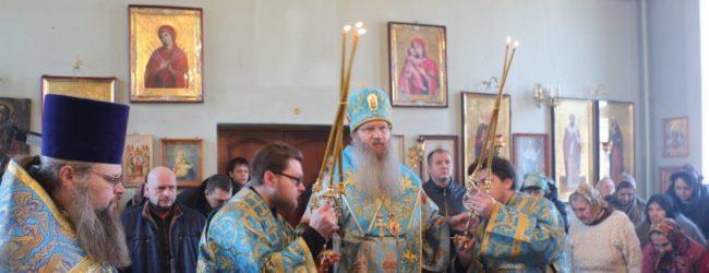 Божественная литургия в Гусёвском женском монастыре в честь Ахтырской иконы Божией Матери.