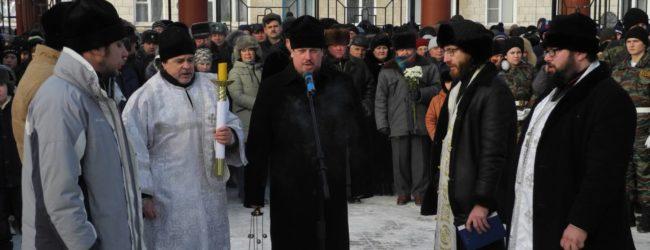 Митинг «Память» — 75 лет победе в Сталинградской битве.