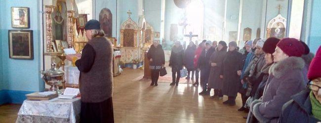 Поминовение всех от века усопших православных христиан в храме Богоявления Господня в ст. Островской.