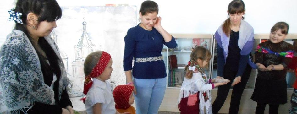 Семейное мероприятие с участием воспитанников воскресной школы и их родителей.