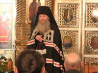Служение епископа Елисея в канун четверга 1-й седмицы Великого поста.