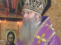 Служение епископа Елисея в неделю 1-ю Великого поста, Торжества Православия.
