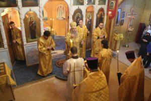 Всенощное бдение в храме Покрова Пресвятой Богородицы х.Ветютнев