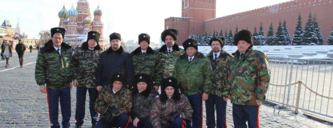 Первый Большой Круг российского казачества в Москве.