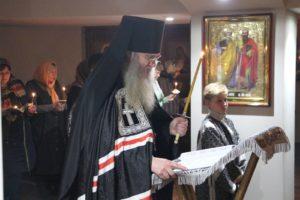Служение Епископа Елисея во Вторник 1-й седмицы Великого Поста