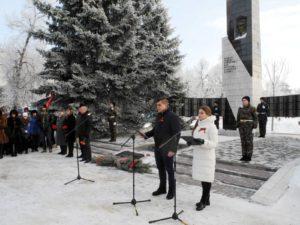 Сталинградский митинг в Урюпинске