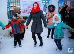 Праздник Масленицы на Приходе храма Казанской иконы Божией Матери г. Михайловка