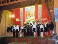 Общешкольный «Урок Мужества» в Урюпинской кадетской школе-интернате.