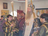 Божественную Литургию Преждеосвященных Даров в храме Апостола и Евангелиста Иоанна Богослова ст.Нехаевской