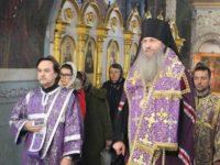 Всенощное бдение в кафедральном соборе Покрова Пресвятой Богородицы г.Урюпинска.
