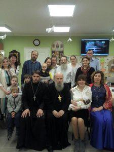 Иерей Андрей Кончагин посетил общину прихода Иоанновского женского ставропигиального монастыря г. Санкт-Петербурга