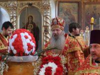 Божественная литургия в храме Святого Духа Утешителя в г. Жирновске.
