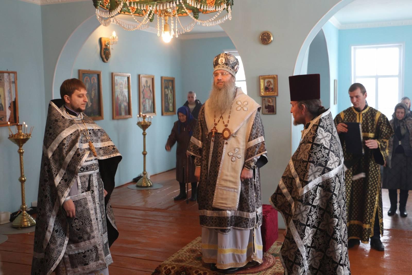 Литургия Преждеосвященных Даров в Великий понедельник Страстной седмицы.