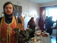 Освящение куличей в с. Новинка Жирновского района