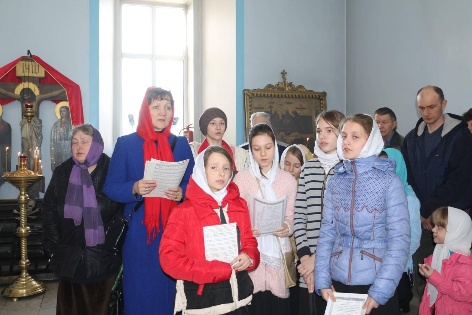 Пасхальная детская Божественная литургия.