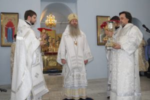 Литургия св. Василия Великого в Покровском кафедральном соборе г. Урюпинска