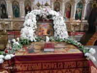 Божественная Литургия в Храме Святаго Духа Утешителя г. Жирновск.