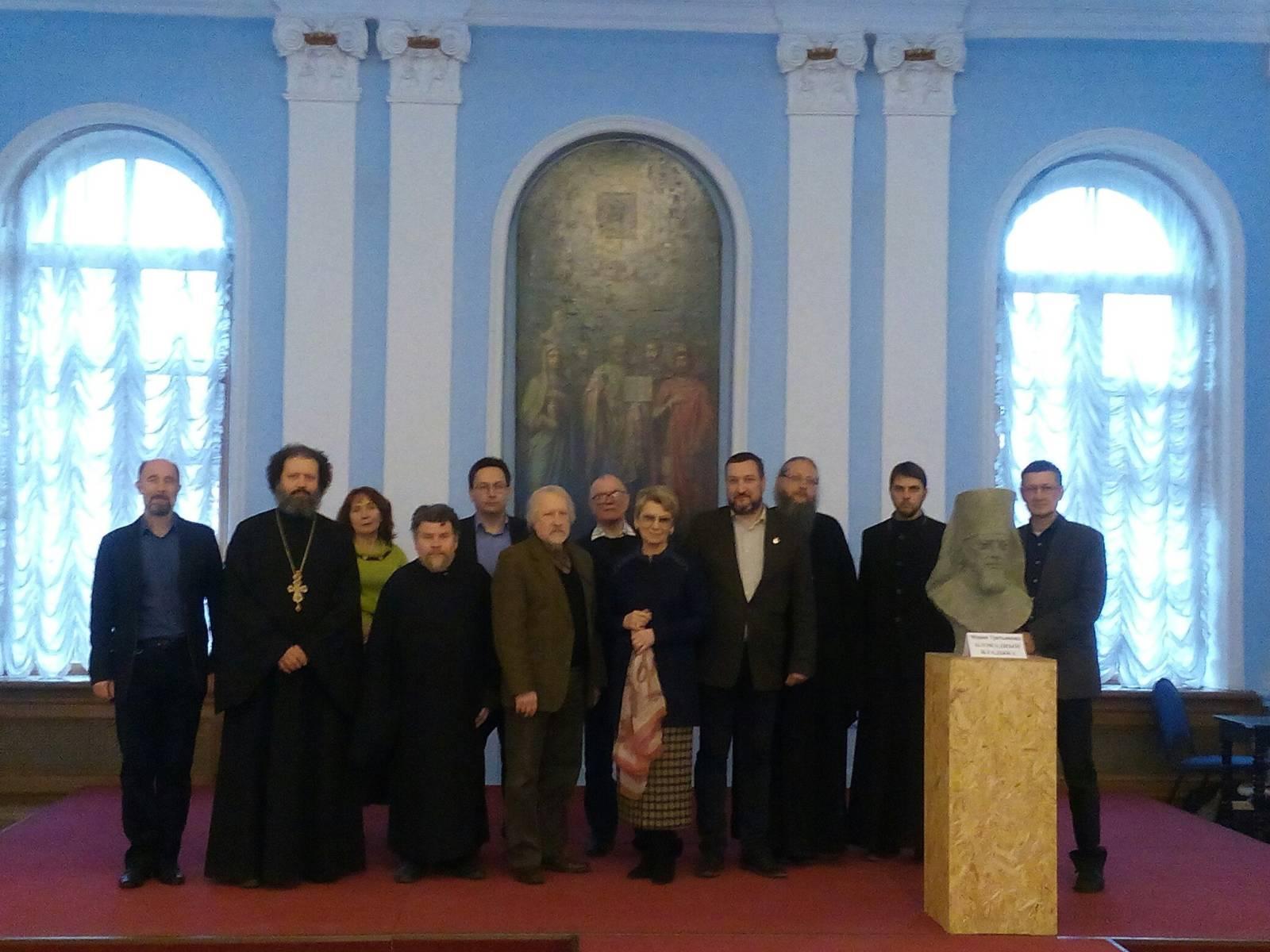 Иерей Андрей Кончагин принял участие в «круглом столе» Санкт-Петербургской епархии.