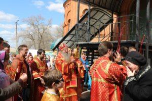 Божественная литургия в храме Святого Духа Утешителя в г. Жирновске