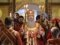 Служение епископа Елисея во вторник 6-й седмицы по Пасхе.