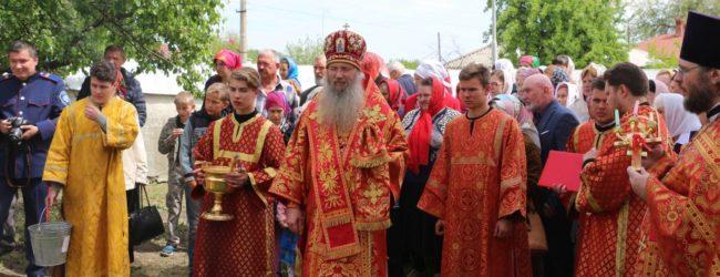 Служение епископа Елисея в 6-ю неделю по Пасхе.