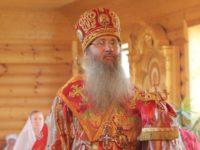 Служение епископа Елисея в канун 5-й недели по Пасхе.
