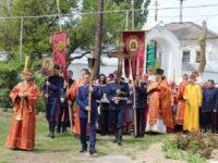 Праздничное богослужение в храме Воскресения Господня г.Серафимовича.