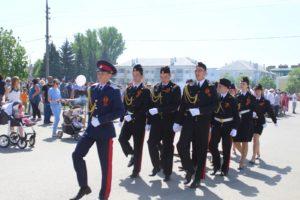 «Крестный ход» к часовне Успения Божией Матери на площади в г.Новоаннинский