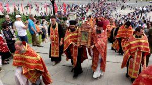 Епархиальный крестный ход состоялся в Волгограде 9 Мая
