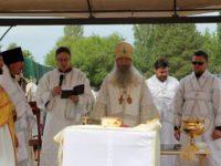 Cлужение епископа Елисея в день памяти свт. Николая архиеп. Мир Ликийских чудотворца.