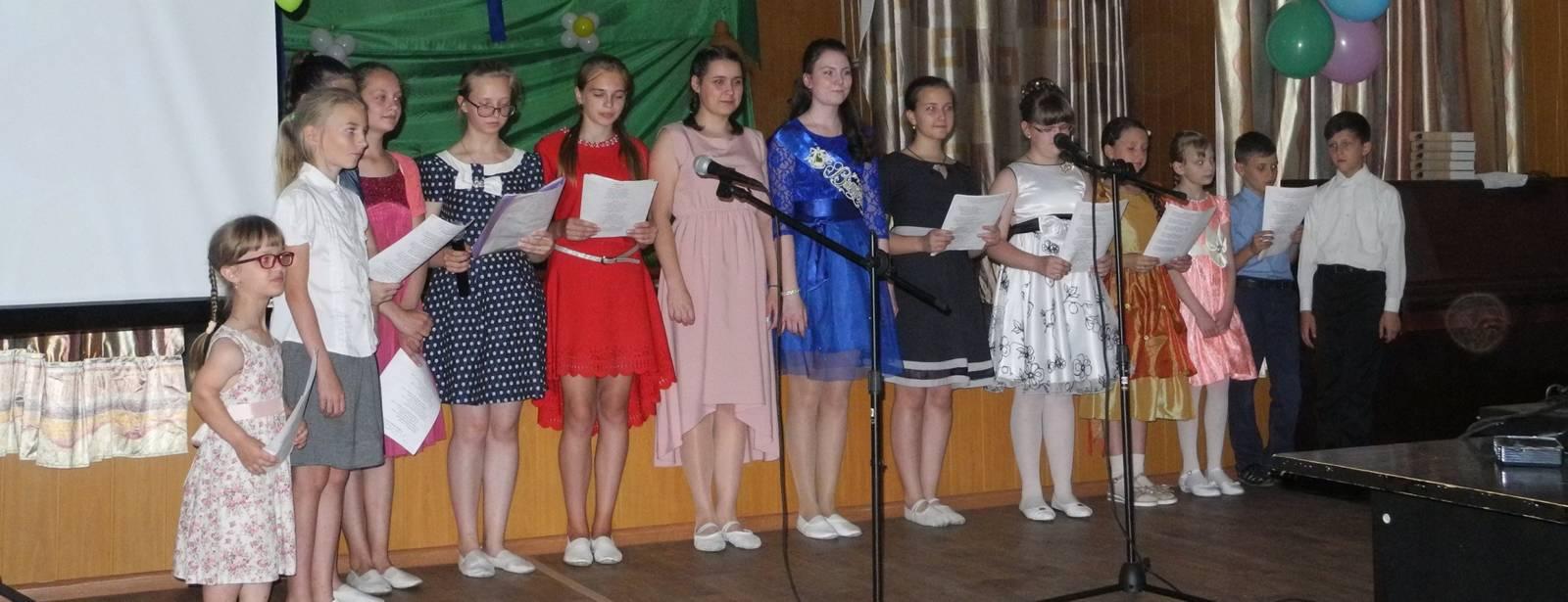 Выпускной воскресной школы «Похвало Урюпинская» Покровского кафедрального собора.