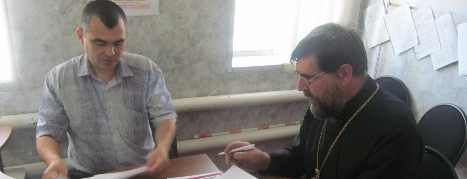 Перезаключен договор о социальном партнерстве с Еланским отделением ДОСААФ России.