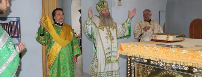Служение епископа Елисея в день памяти Собора всех преподобных и Богоносных отцев, во Святой Горе Афонской просиявших.