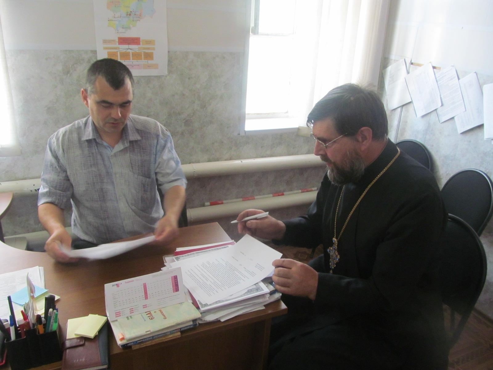 Перезаключен договор о социальном партнерстве с Еланским отделением ДОСААФ России