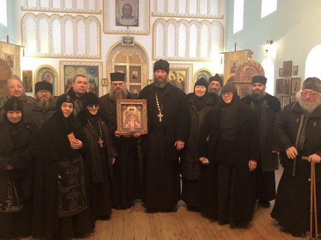 Преставилась ко Господу схимонахиня Агапия, старейшая насельница Свято-Троицкого Каменно-Бродского мужского монастыря Урюпинской епархии